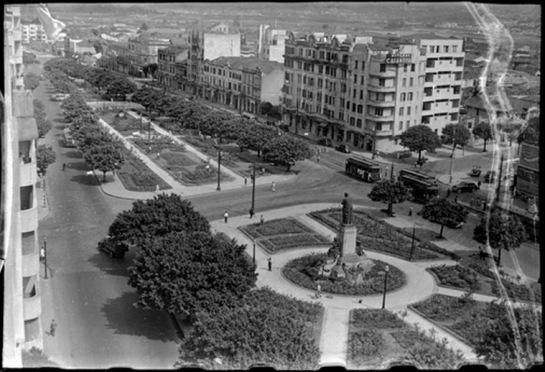 Praça Marechal Teodoro - Sim, essa era vista do Minhocão, antes de ser Minhocão
